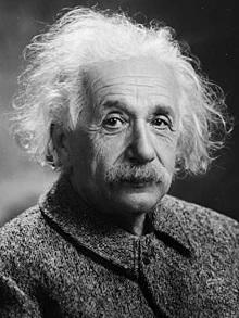 Albert Einstein fotografado por Oren J. Turner em 1947