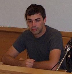 Foto Larry Page Wikipedia