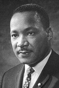 Foto Martin Luther King em 1964