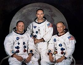 Tripulação Apollo 11, Armstrong, Collins e Aldrin