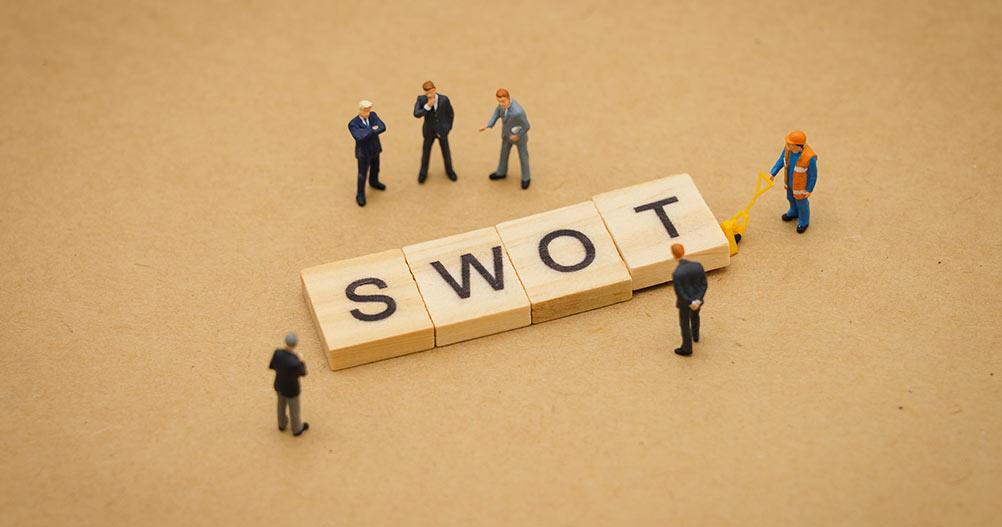 Avaliação dos Elementos da Matriz SWOT